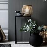 dekoratif siyah vazo modelleri