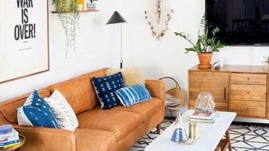 deri koltuklarla dekorasyon fikirleri 2018