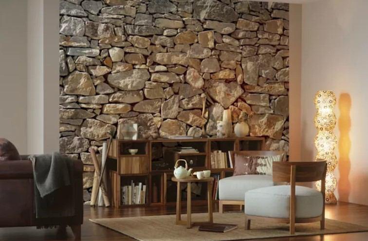 doğal taş 2018 duvar dekorasyonu