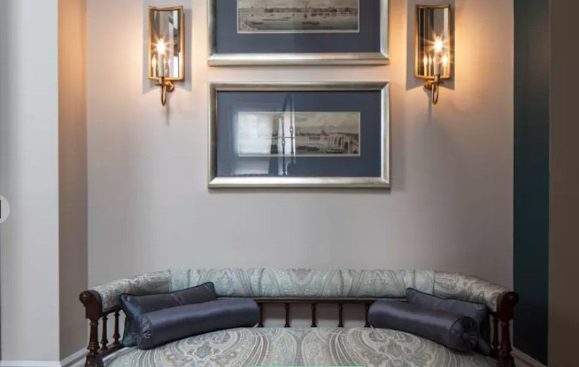 duvar ışıkları ile ev dekorasyonu