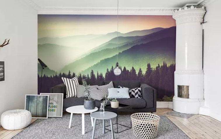 duvar resimleri ile dekorasyonlar 2018