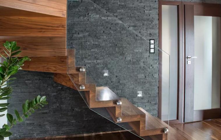 aş kaplama merdiven duvarı