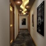 modern koridor aydınlatmaları 2018