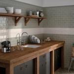 mutfak için seramik karolar ile duvar kaplamaları