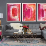 pembe berjer ile salon dekorasyonları 2019