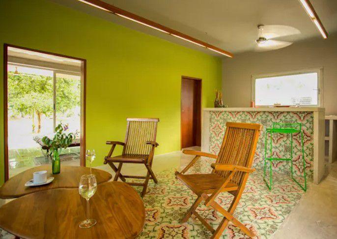 Salon duvarları için en iyi boya renkleri 2018 yeşil