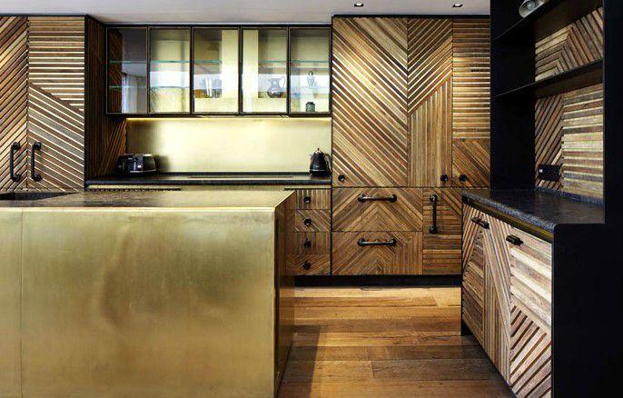 ahşap mutfak dekorasyonu trendleri 2019 2020 renkler
