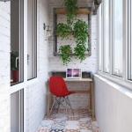 balkon home ofis düzenlemeleri