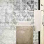 banyoya uygun duvar kağıdı modeli