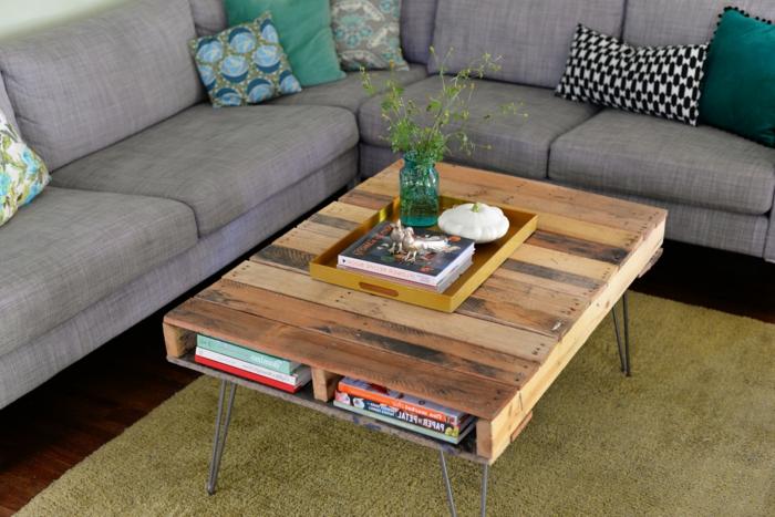 dekoratif palet orta sehpa modeli ev dekorasyonu. Black Bedroom Furniture Sets. Home Design Ideas