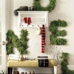 kış için antre ve giriş dekorasyon fikirleri