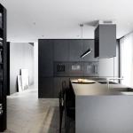 koyu modern mutfak modelleri