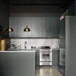 koyu renk endüstriyel mutfaklar 2018