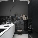 koyu renk mutfaklar