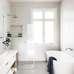 minimalist banyo dekorasyonu 2019