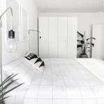 minimalist yatak odası dekorasyonu 2018 2019