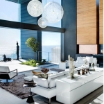 Modern oturma odası dekorasyonları 2018
