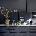 siyah mutfak dekorasyonu 2019
