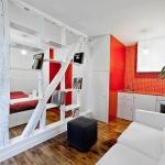 1 + 1 daireler için dekorasyon fikirleri 2018 2019