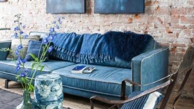 indigo mavisi dekor fikirleri 2018