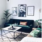 kadife koltuklar ile ev dekorasyonu fikirleri