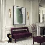 kadife mobilyalar ile ev dekorasyonları 2018