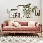 kadife mobilyalar ile ev dekorasyonu
