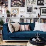 kadife mobilyalar ile ev dekorasyonu fikirleri 2018