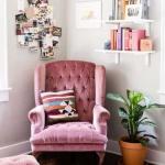 kadife mobilyalar ile ev dekorasyonu örnekleri