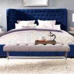 kadife yatak ile dekor