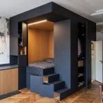Küçük stüdyo daire dekorasyon fikirleri 2018