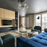 modern klasik karışımı ev dekorasyonu 2018