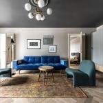 modern klasik karışımı ev dekorasyonu fikirleri 2018 2019