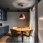 modern klasik karışımı mutfak dekorasyonu 2018
