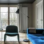modern klasik karışımı salon dekorasyonu 2018