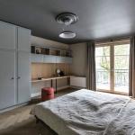 modern klasik karışımı yatak odası