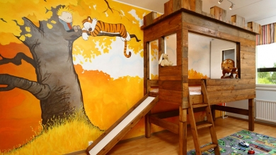 2018 yaratıcı çocuk odası dekorasyon fikirleri