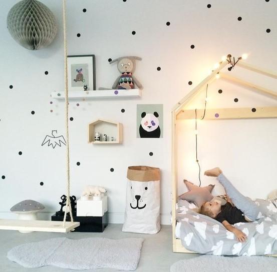 çocuk odası duvar dekorasyon fikirleri 2018