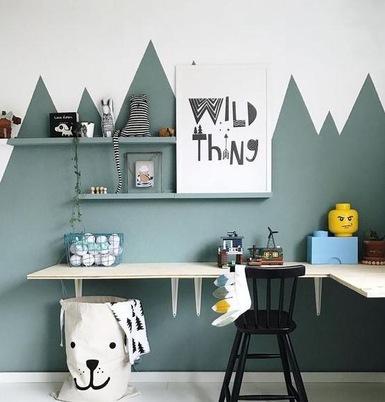 çocuk odası duvar dekorasyonu 2018 2019
