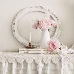 dantelli vintage ev dekorasyonu