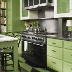 en iyi mutfak duvar renkleri 2018 yeşil mutfaklar