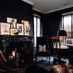 ev dekorasyonunda koyu renkler nasıl kullanılır