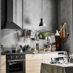 gri mutfak duvar renkleri 2018
