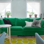 ikea yeşil kanepe koltuk 2018