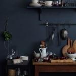 koyu renk mutfak duvar boyaları 2018