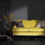 koyu renk oturma odası dekorasyonu 2019