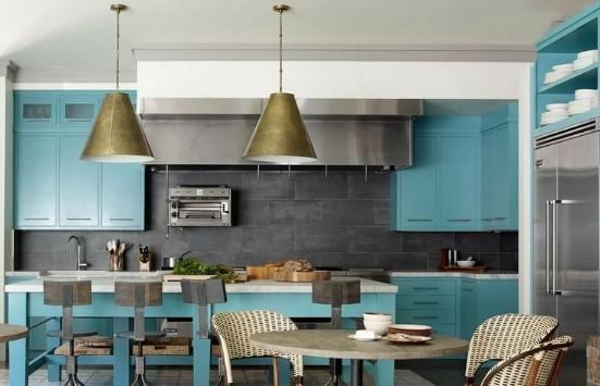 küçük mutfaklar için boya rengi seçimi
