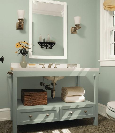 küçük odalar için boya rengi seçimi