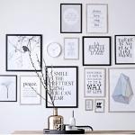 resimler ve tablolar ile salon duvar dekorasyonu fikirleri 2018