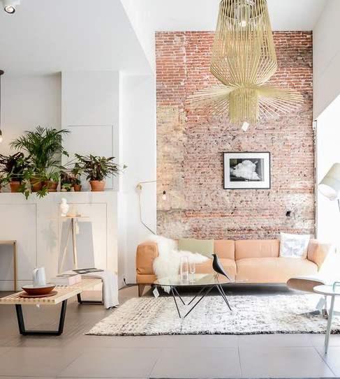 tuğla duvar dekor önerileri 2018
